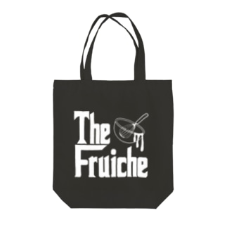FRUICHE.bowl_shiro Tote bags
