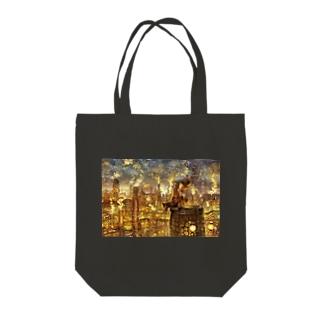 えんとつ町のプペル Tote bags