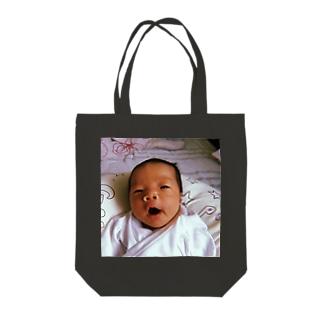 あくびのつむ Tote bags