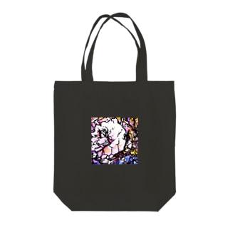 バラの反乱 Tote bags