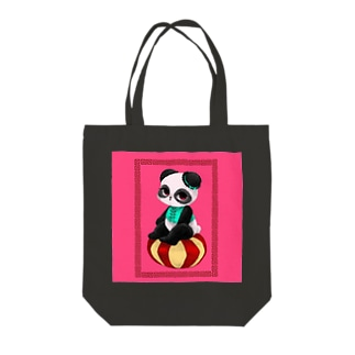 チャイニーズパンダ★みゅんみゅん Tote bags