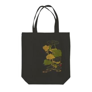 蓮蛙 Tote bags