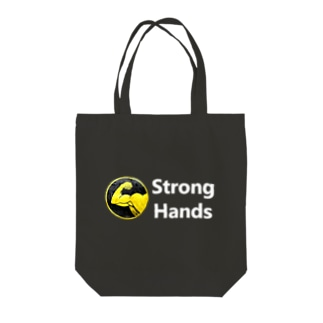 StrongHands white Tote Bag