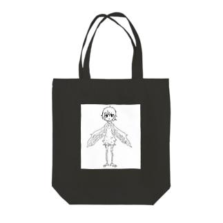 生まれ変わりたい女の子 Tote bags