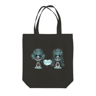 HELL CLINIC 濃い色用 Tote bags