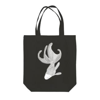 金魚 (white) Tote bags