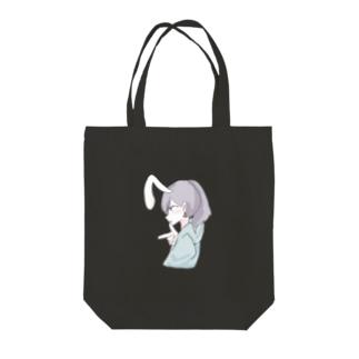 ラムネのラムちゃん clear Tote bags