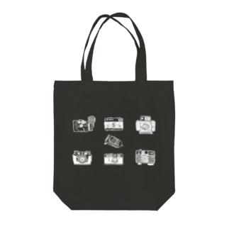 6camera+1(白) Tote bags