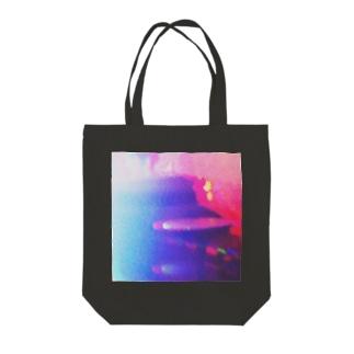 プラズマっぽい Tote bags