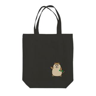 まなびーばー Tote bags