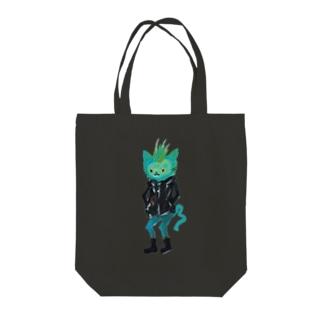 ねこびとさん(ジョエル) Tote bags