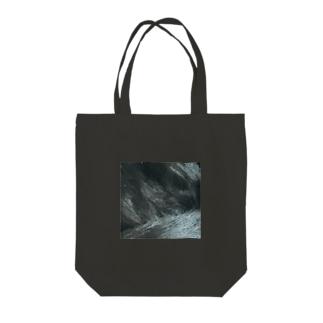 綾四季/猫の毛柄003 Tote bags