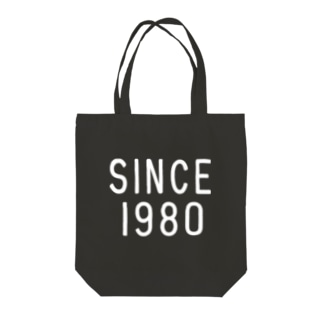 SINCE1980 Tote bags