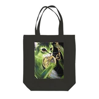 ネコ トートバッグ