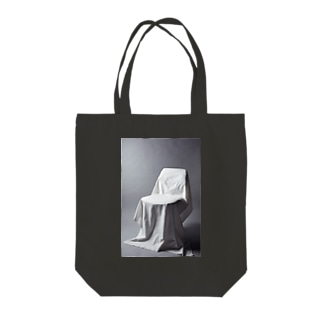Covered_chair Tote bags