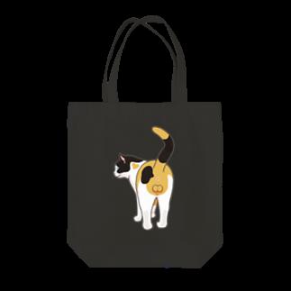 フコフコのミケネコ♂ Tote bags