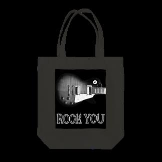 Kengo KitajimaのROCK YOU モノクロ Tote bags