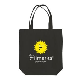黒トート 縦ロゴ Tote bags