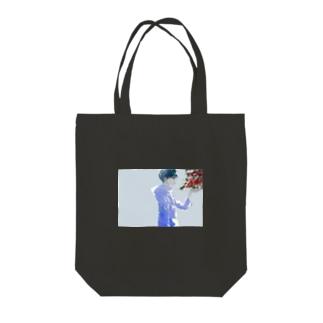 ナンテン Tote bags