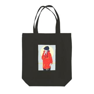 明星 Tote bags