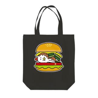 とり男バーガー Tote bags