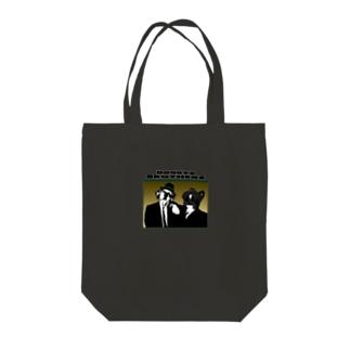 ドギーズブラザーズ Tote bags