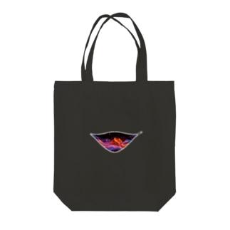 ファスナーグラフィック Tote bags