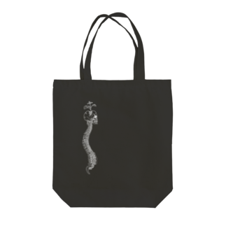 I'm not a robotのBlack-spine Tote bags