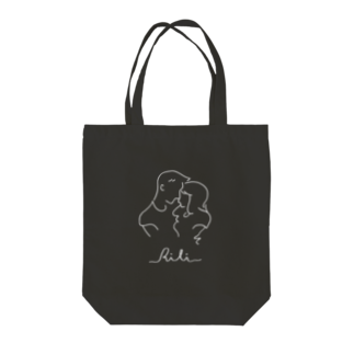 RiLiのtwo of a kind(反転) Tote bags