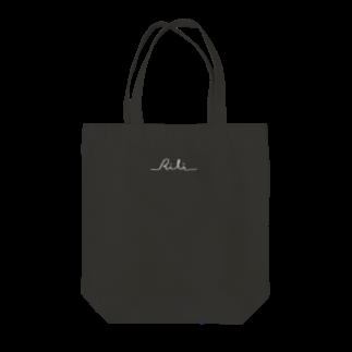 RiLiのロゴ(反転) Tote bags