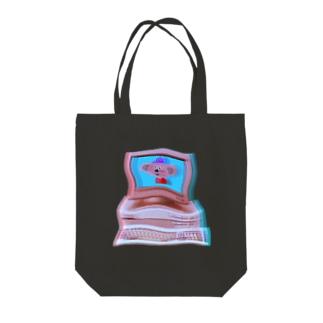 回線弱者2 Tote bags