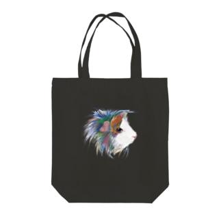 カラフルペルビアン Tote bags