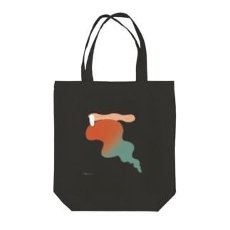 kemuri girl 1 Tote bags