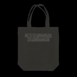 カナクギフォントの「百人一首 86番歌 西行法師」カナクギフォントL Tote bags