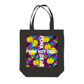 chaos Tote bags