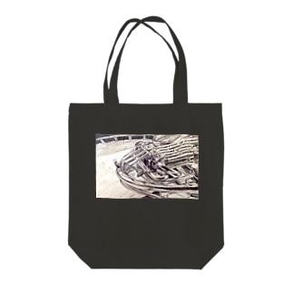 ホルン Tote bags