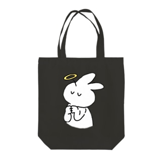 アーメンきくらげちゃん Tote bags