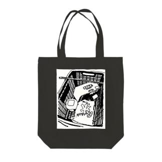 夏バテ Tote bags