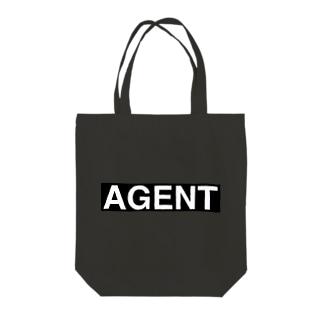 エージェントパーカー Tote bags