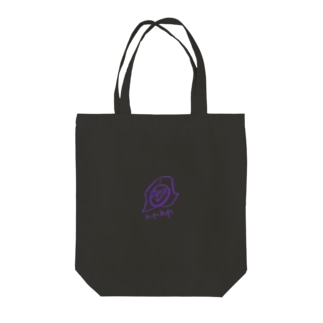 ムラサキhogehoge Tote bags
