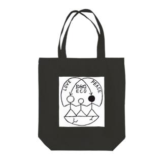 HUMANed Tote bags