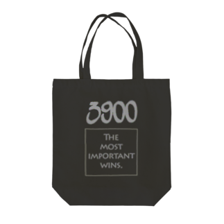wlmのPOINTS 3900 Gray Tote bags