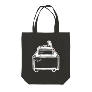 Amplifier and Buncho Tote bags