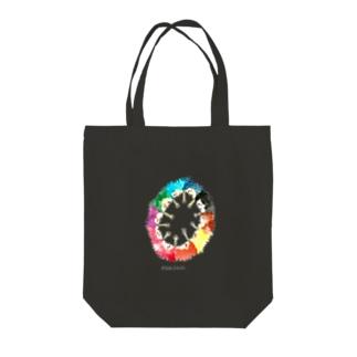 【1811】じゃんけんドーナツ Tote bags