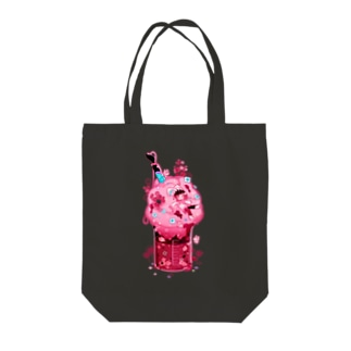 Cotton Candy Tote bags