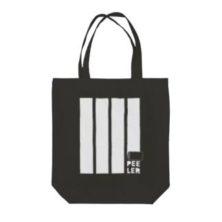 PEELER-08(WT) Tote bags
