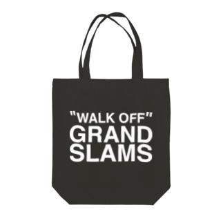 WALK OFF GRAND SLAMS -wht- Tote bags