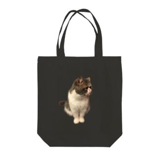 素直になりたいねこちゃん Tote bags