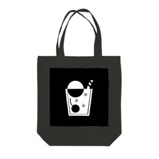 クリームソーダロゴ Tote bags