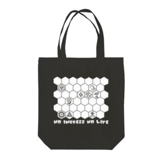 NO INGRESS NO LIFE Tote bags